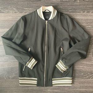 Zara Mens Cotton Bomber Jacket